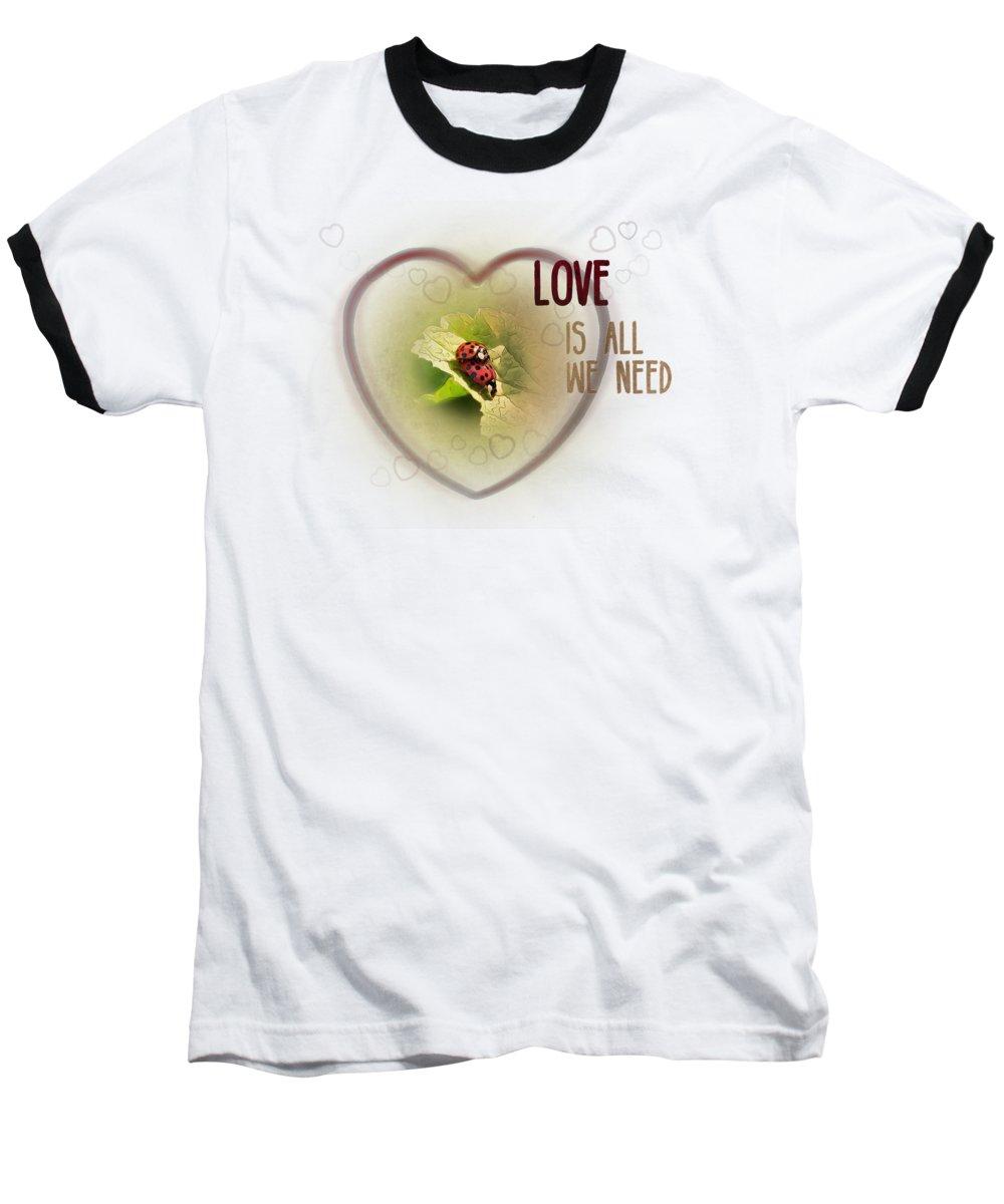 Ladybug Baseball T-Shirts