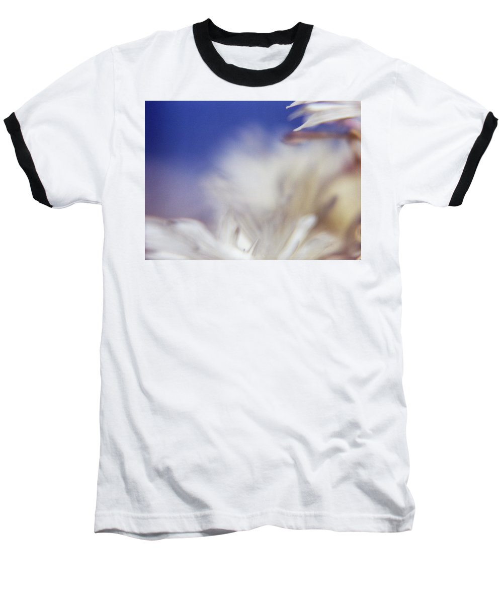 Flower Baseball T-Shirt featuring the photograph Macro Flower 1 by Lee Santa