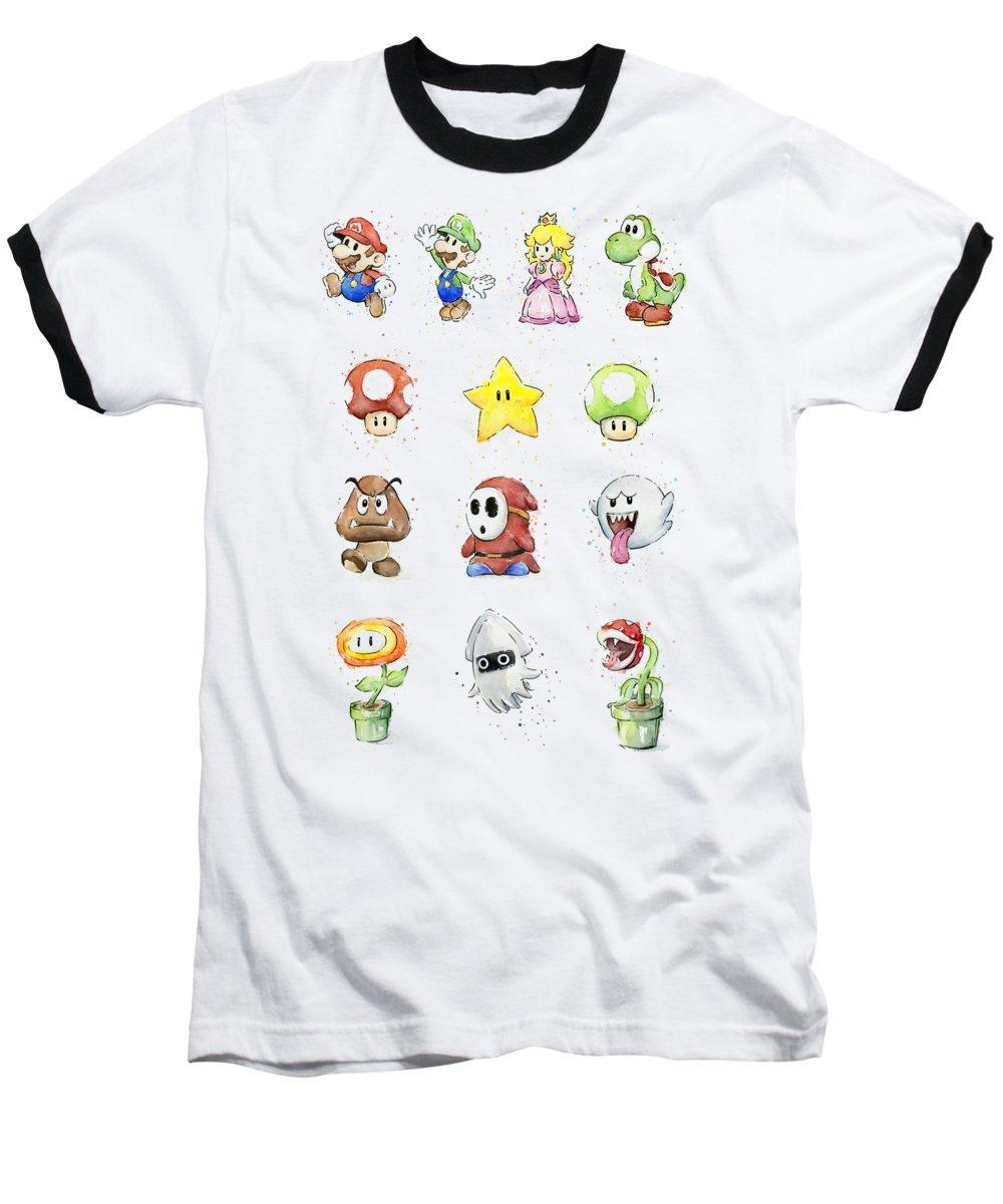 Peach Baseball T-Shirts