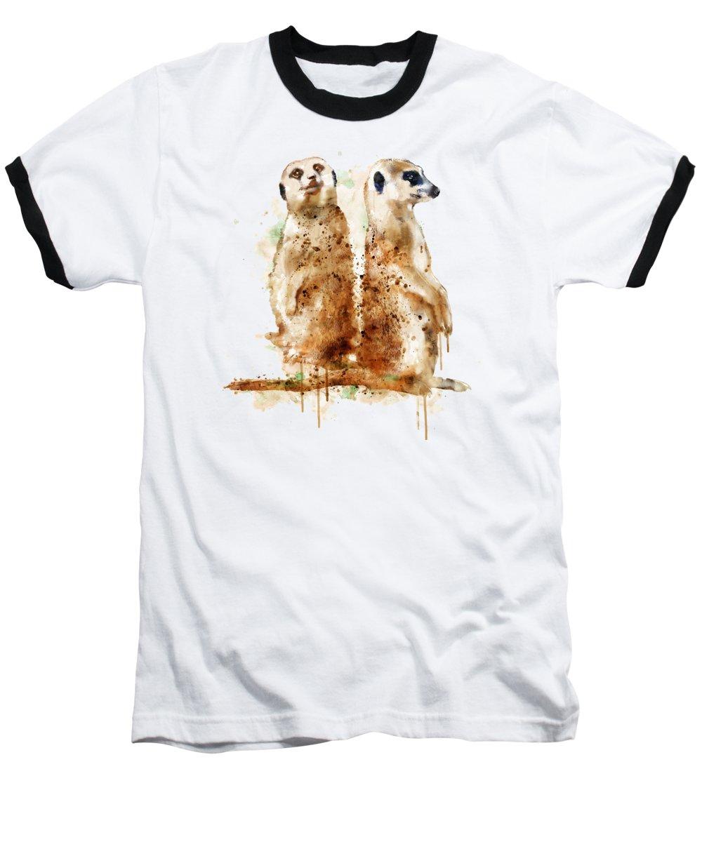 Meerkat Baseball T-Shirts