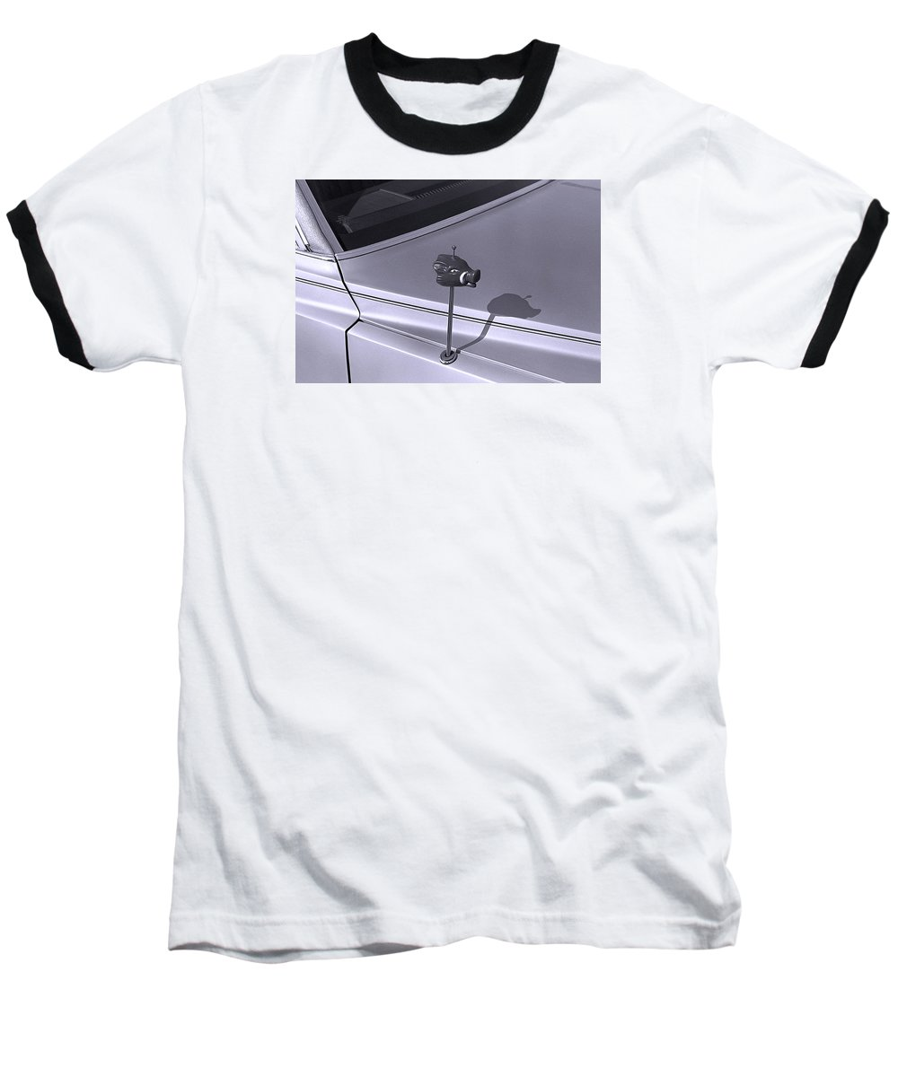 Primitive Baseball T-Shirt featuring the photograph Modern Primitive by Ted M Tubbs