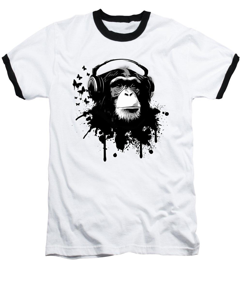 Chimpanzee Baseball T-Shirts