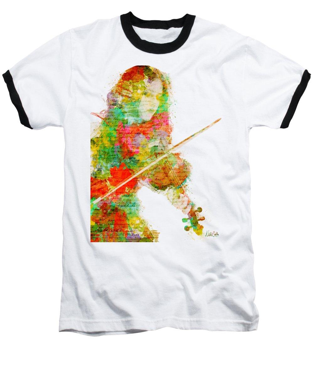 Violin Baseball T-Shirts