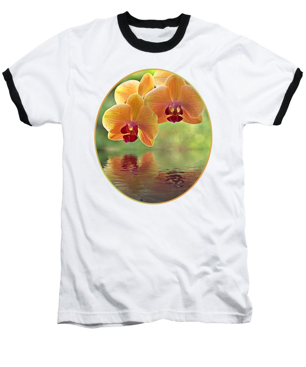 Floral Photographs Baseball T-Shirts