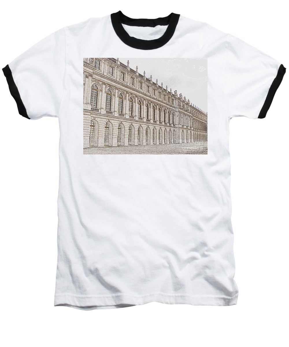 France Baseball T-Shirt featuring the photograph Palace Of Versailles by Amanda Barcon