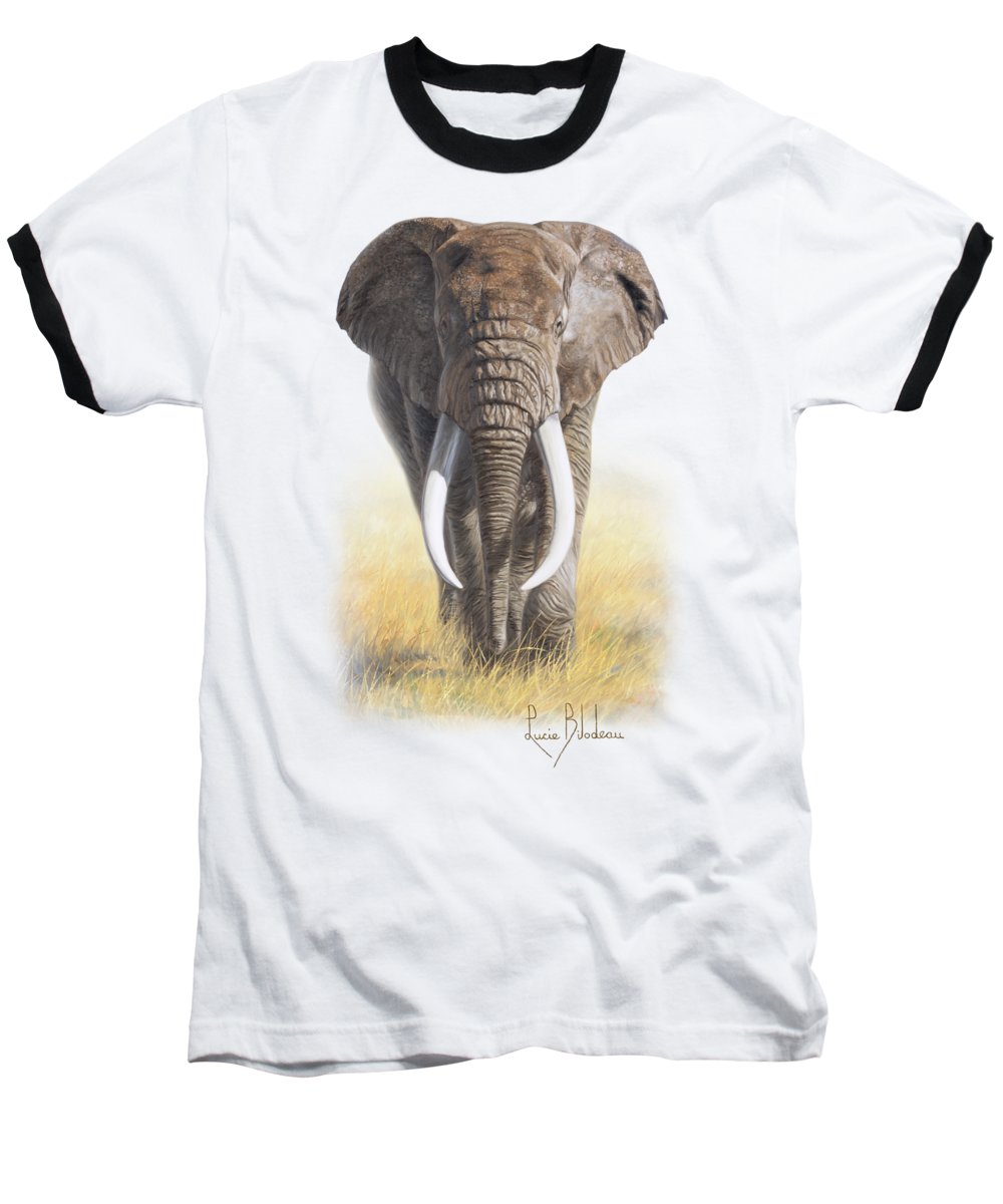 Elephant Baseball T-Shirts