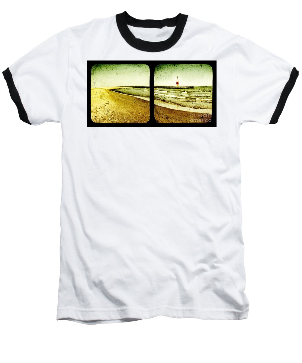 Ttv Baseball T-Shirt featuring the photograph Reaching For Your Hand by Dana DiPasquale