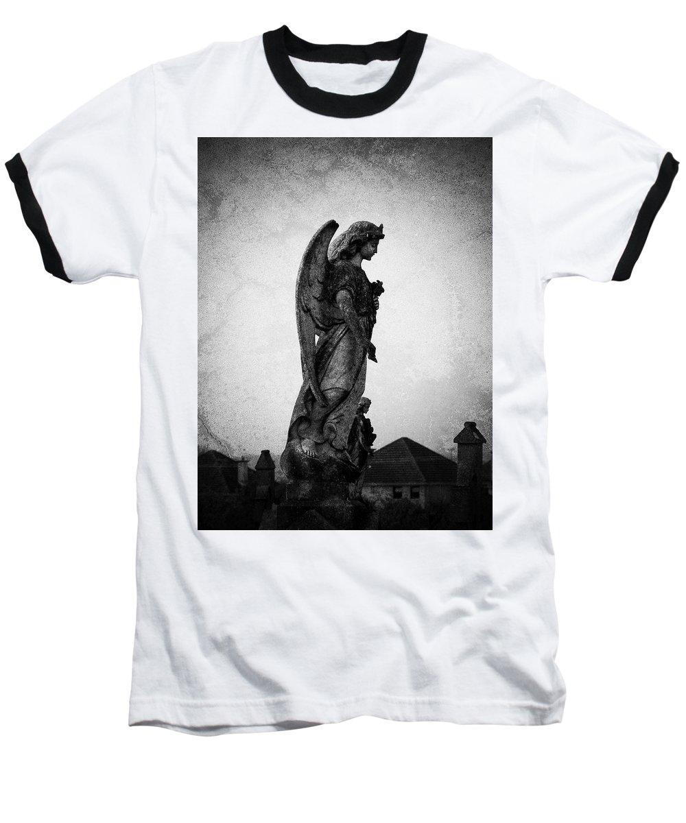 Roscommon Baseball T-Shirt featuring the photograph Roscommonn Angel No 4 by Teresa Mucha