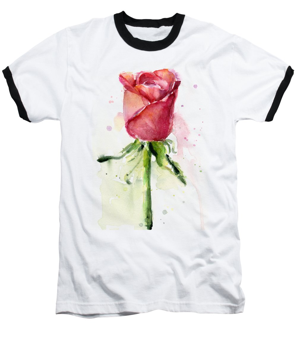 Rose Baseball T-Shirts
