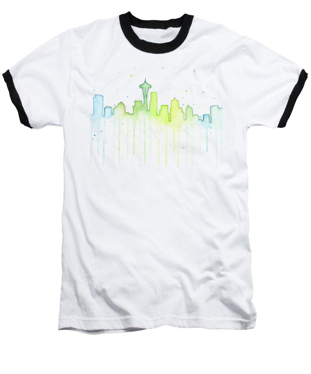 Skylines Baseball T-Shirts