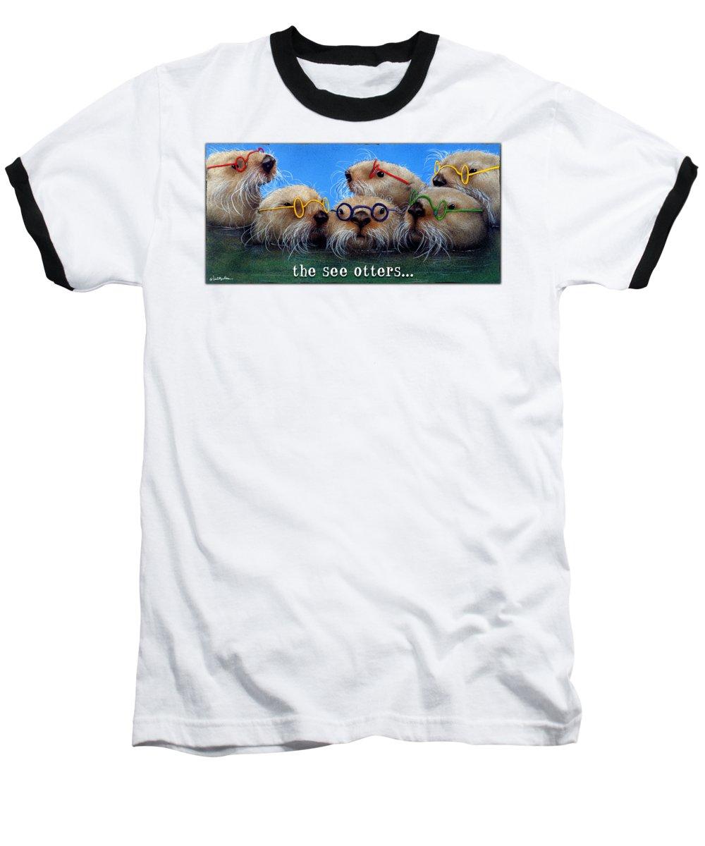 Otter Baseball T-Shirts