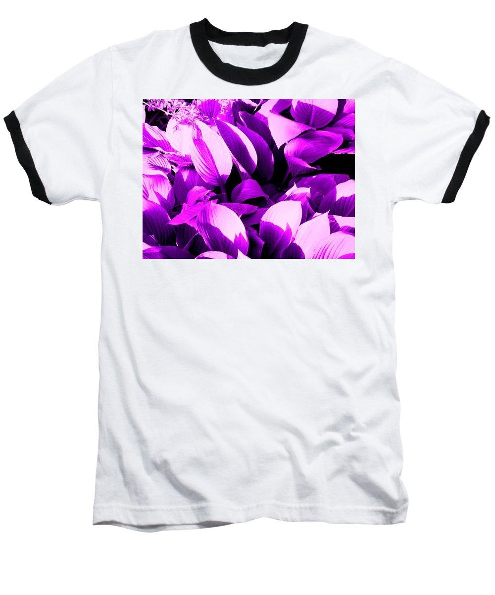 Leaves Baseball T-Shirt featuring the photograph Shades by Ian MacDonald