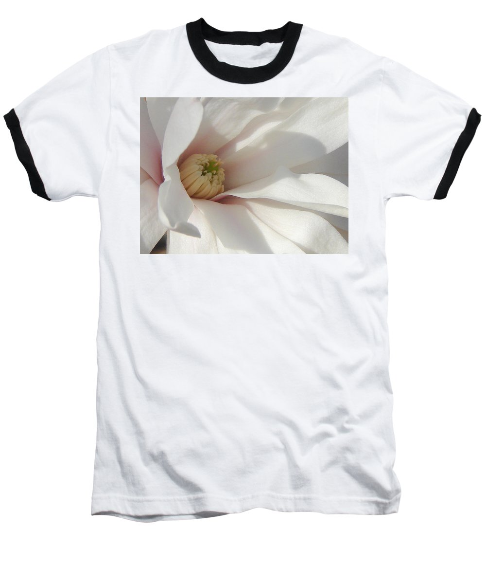 Baseball T-Shirt featuring the photograph Simply White by Luciana Seymour