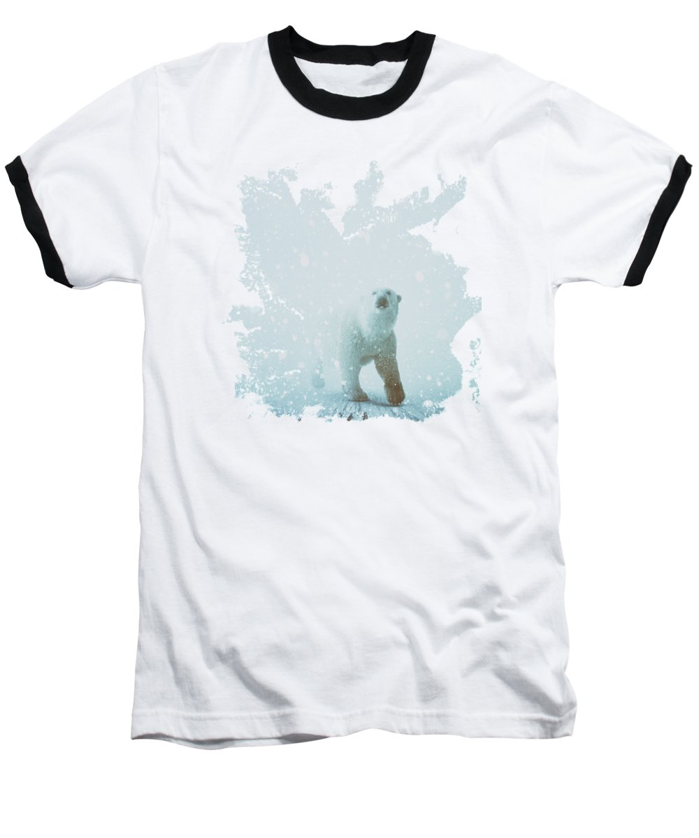 Polar Bear Baseball T-Shirts
