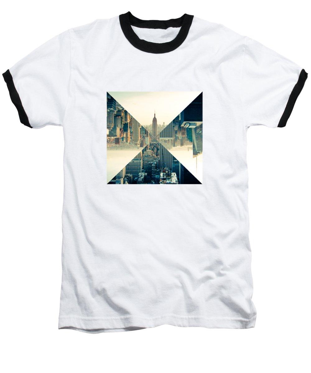 New York City Skyline Baseball T-Shirts