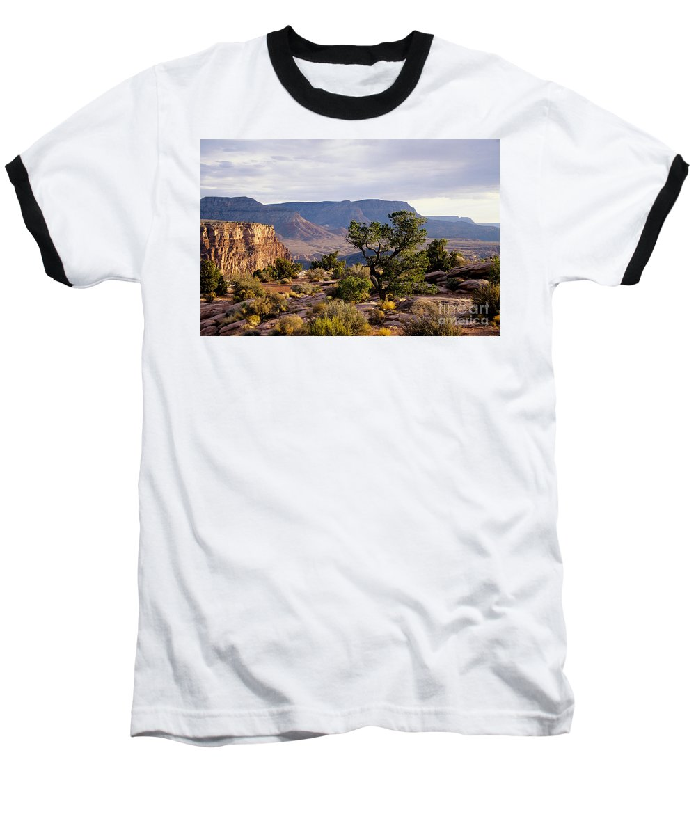 Arizona Baseball T-Shirt featuring the photograph Toroweap by Kathy McClure