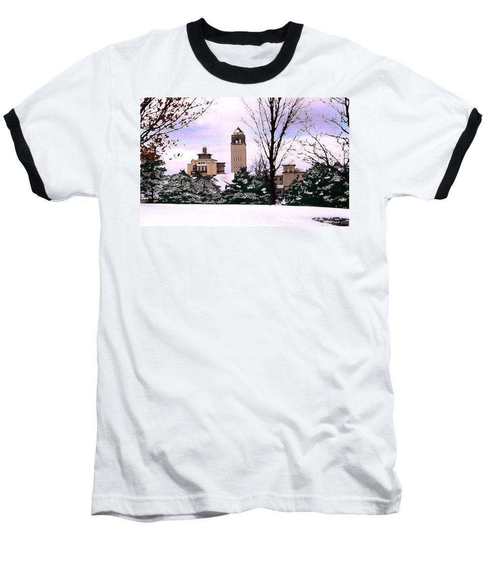 Landscape Baseball T-Shirt featuring the photograph Unity Village by Steve Karol