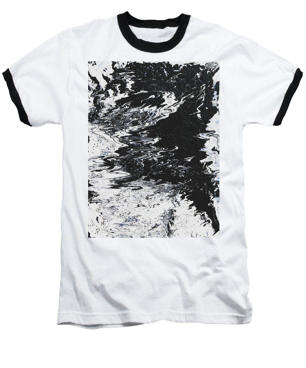 Fusionart Baseball T-Shirt featuring the painting Victory by Ralph White