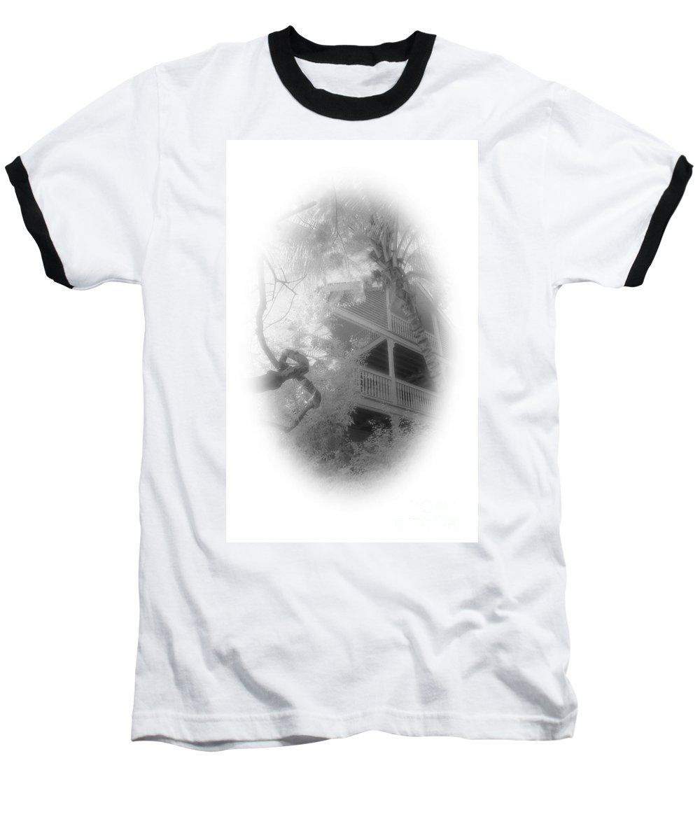 Balcony Baseball T-Shirt featuring the photograph View Of The Balcony by Richard Rizzo