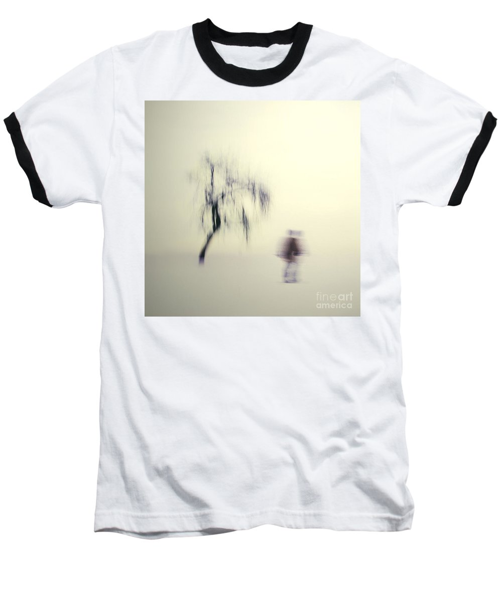 Blur Baseball T-Shirt featuring the photograph What Is The Way To The Light by Dana DiPasquale