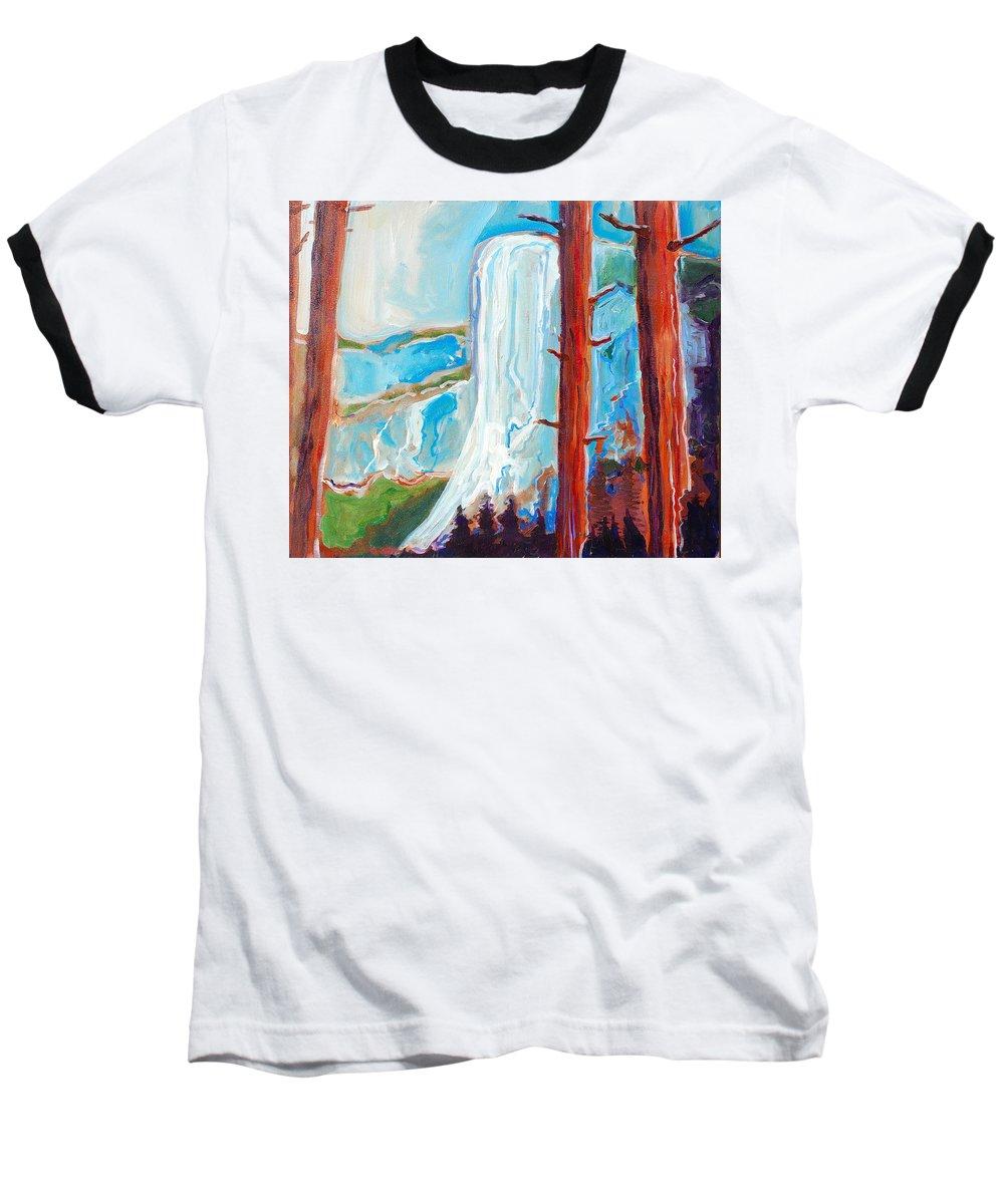 Baseball T-Shirt featuring the painting Yosemite by Kurt Hausmann