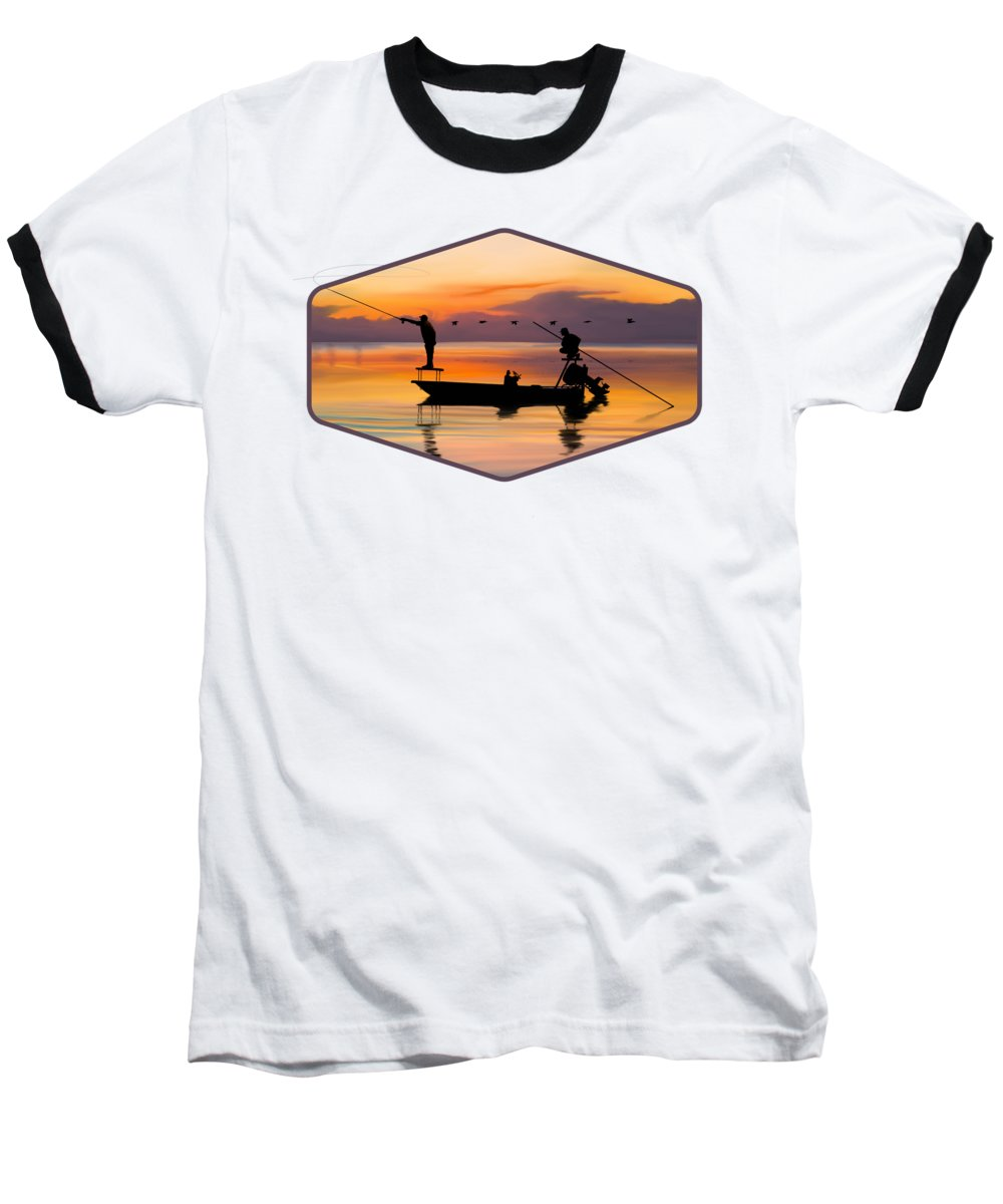 Sunset Baseball T-Shirts