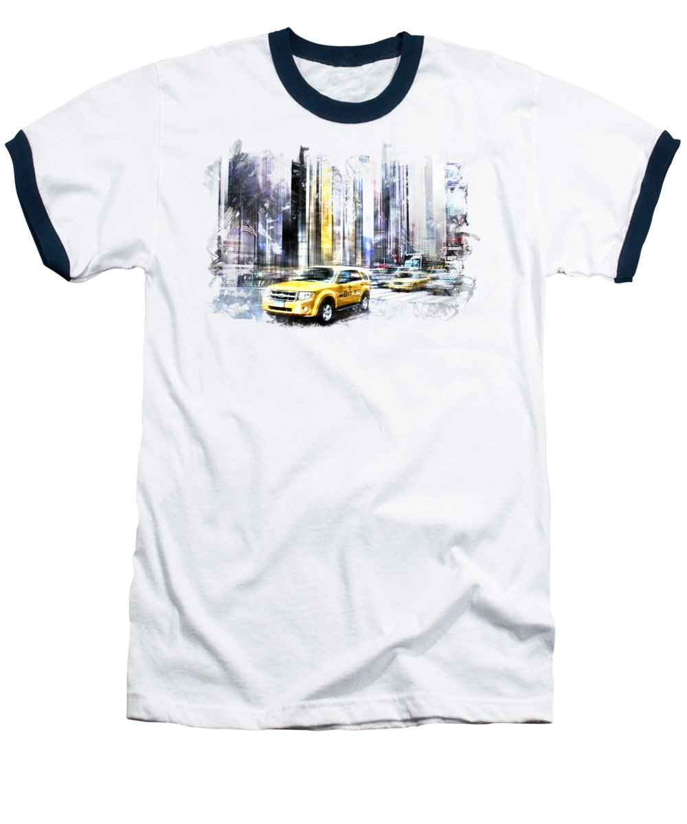 Times Square Baseball T-Shirts