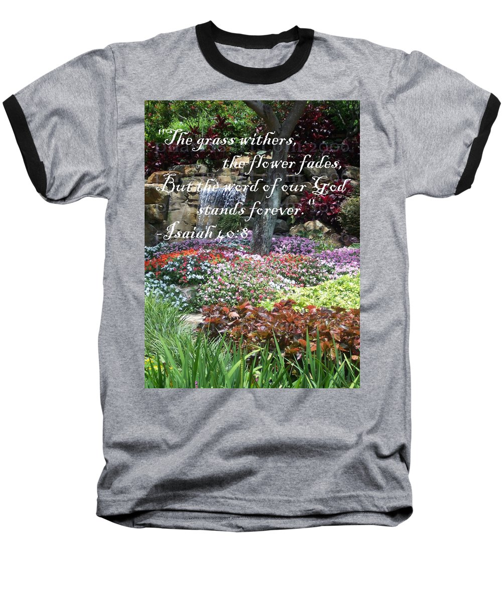 Inspirational Baseball T-Shirt featuring the photograph Stands Forever by Pharris Art