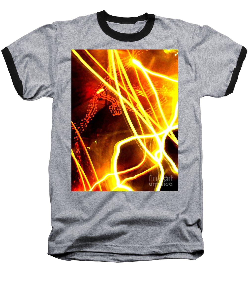 Abstract Baseball T-Shirt featuring the photograph Abstract by Amanda Barcon