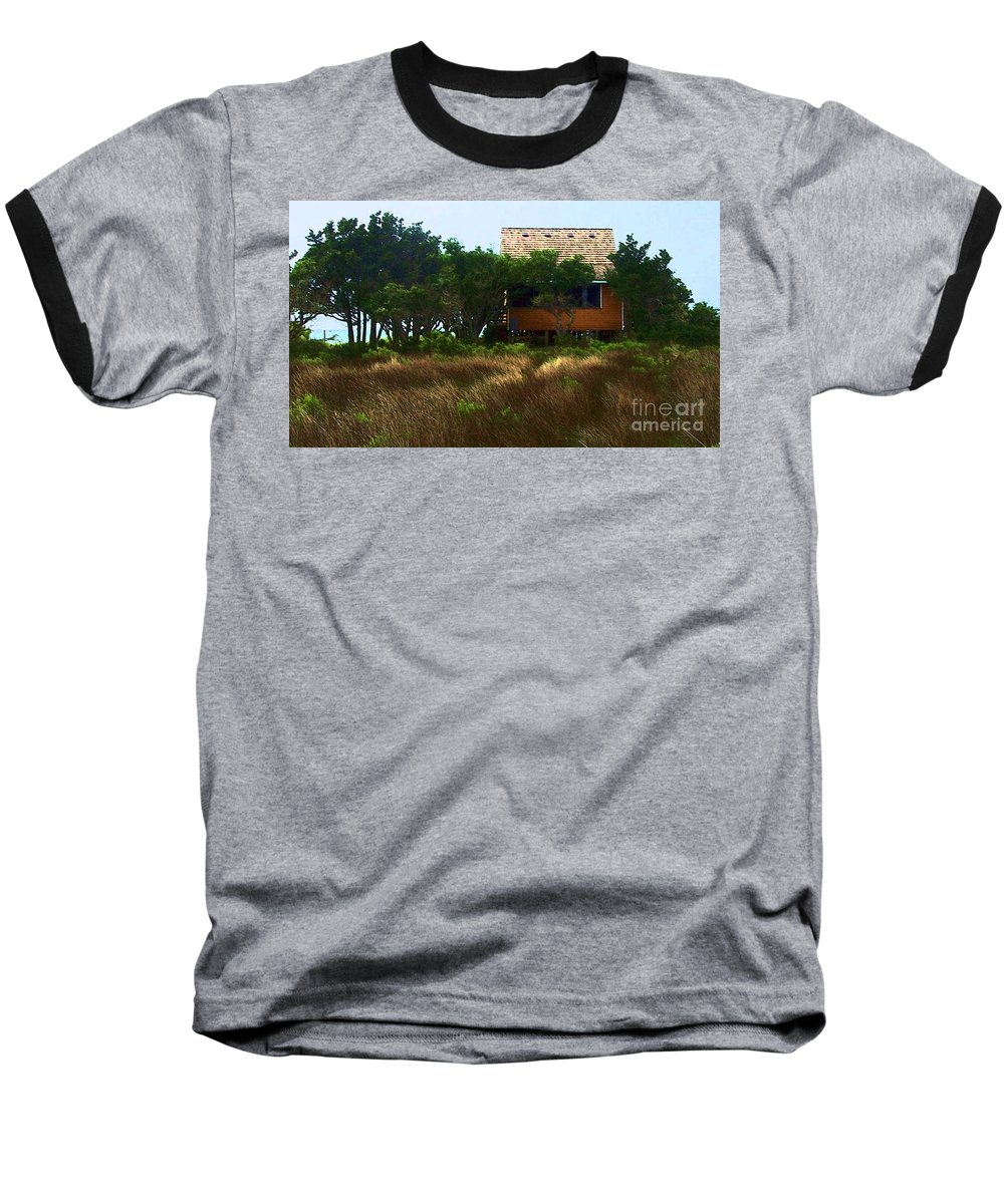 Beach Baseball T-Shirt featuring the photograph Back To The Island by Debbi Granruth