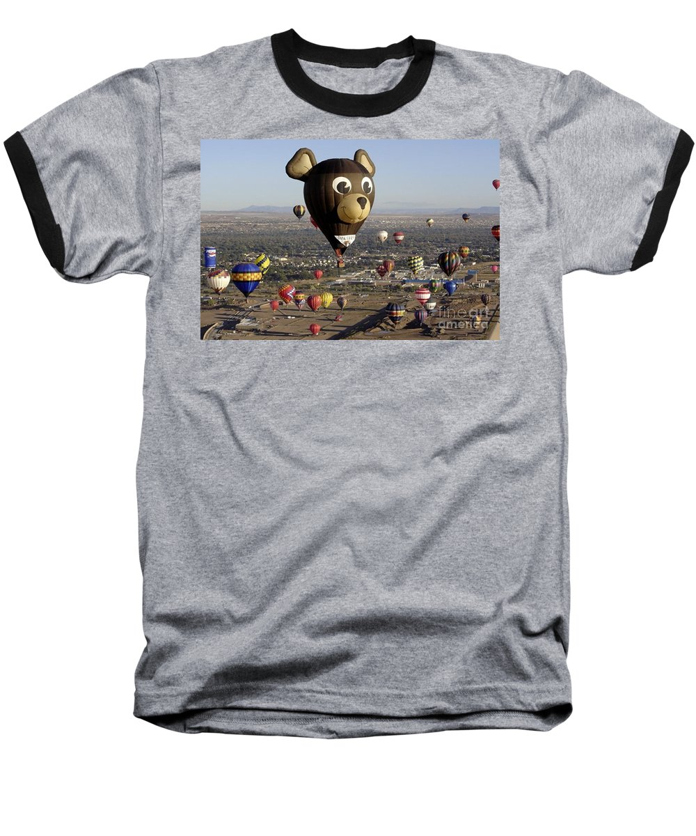 Albuquerque Baseball T-Shirt featuring the photograph Bear by Mary Rogers