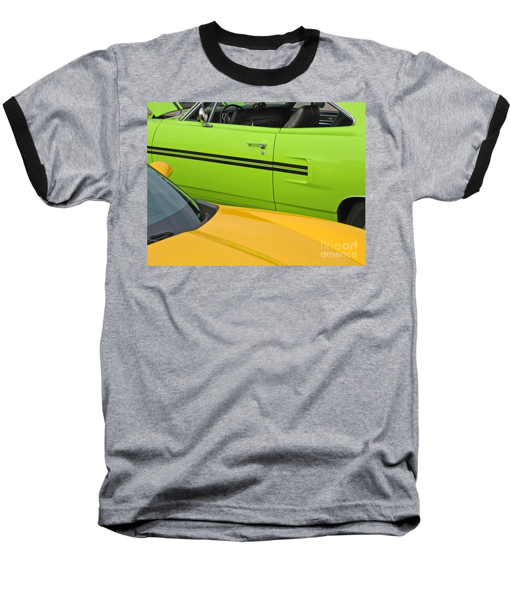 Car Baseball T-Shirt featuring the photograph Classy Classics by Ann Horn