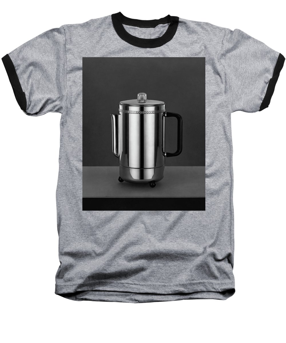 Home Accessories Baseball T-Shirt featuring the photograph Electric Percolator by Martinus Andersen