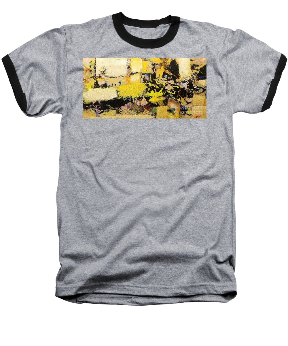 Landscape Baseball T-Shirt featuring the painting Euclid by Allan P Friedlander