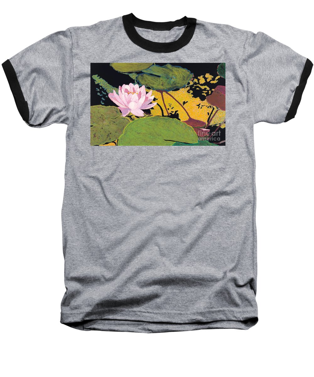 Landscape Baseball T-Shirt featuring the painting Georgia Summer by Allan P Friedlander