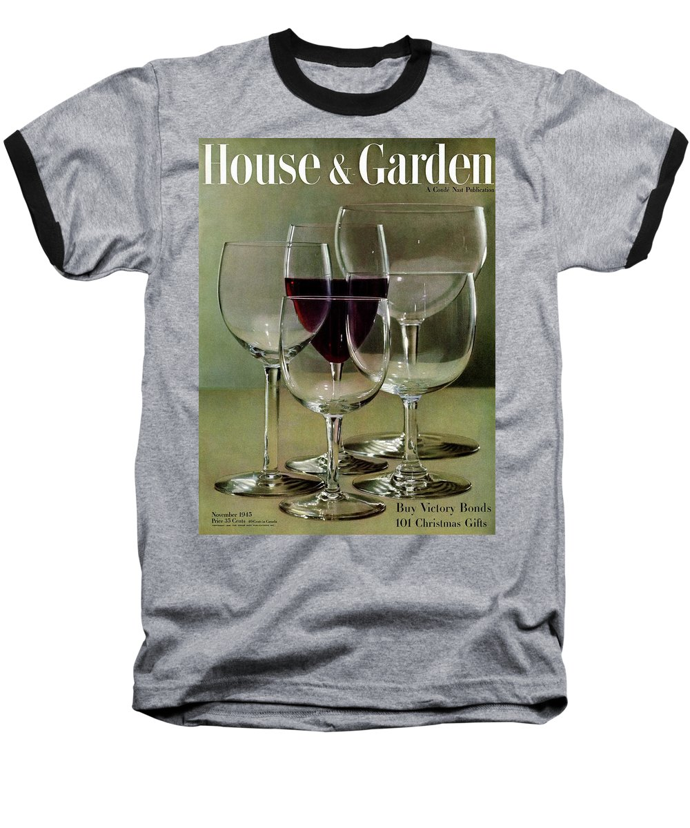 House And Garden Baseball T-Shirt featuring the photograph House And Garden Cover by Haanel Cassidy