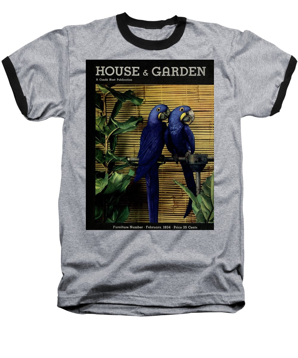 House And Garden Baseball T-Shirt featuring the photograph House And Garden Furniture Number Cover by Anton Bruehl