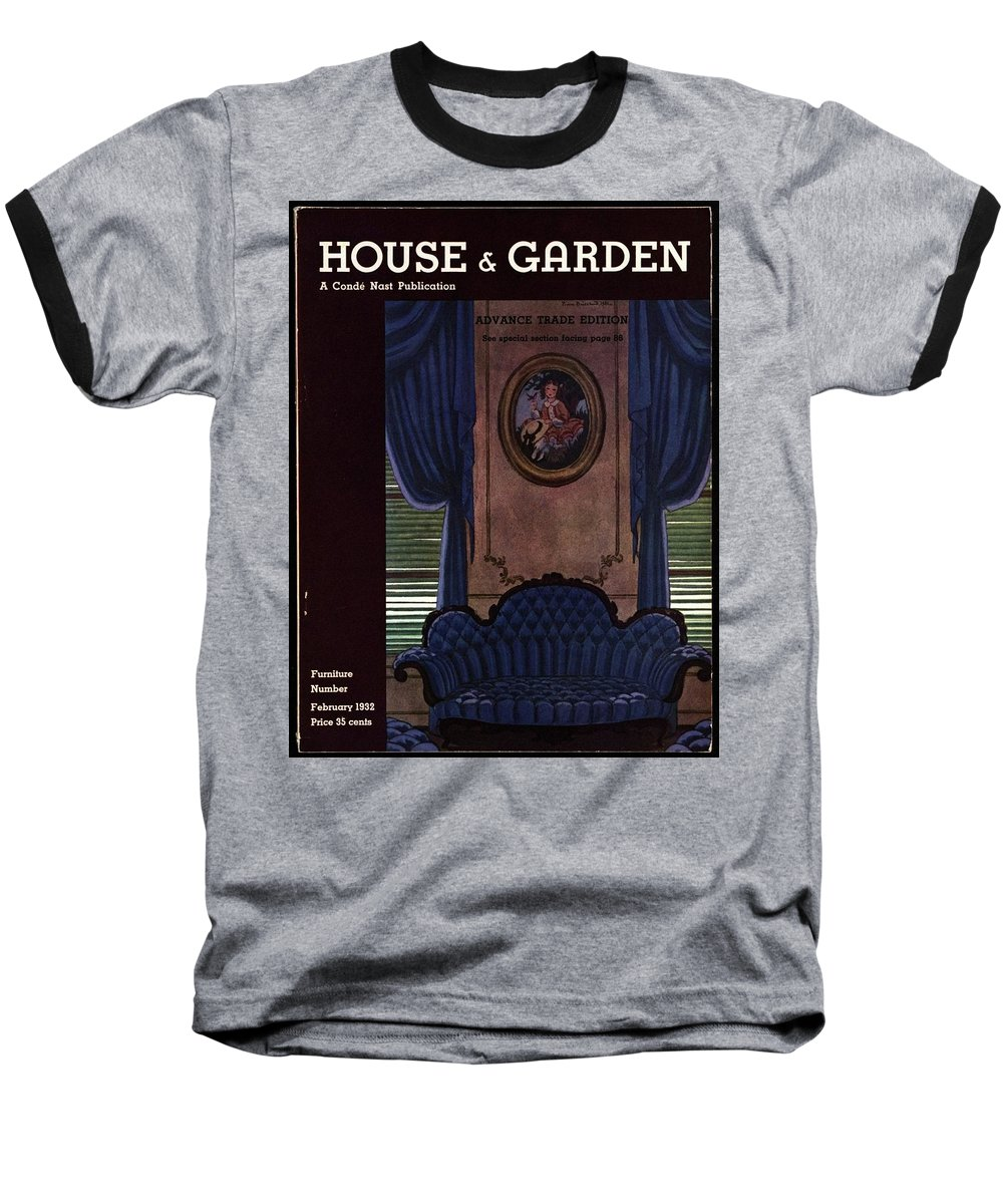 House And Garden Baseball T-Shirt featuring the photograph House And Garden Furniture Number by Pierre Brissaud