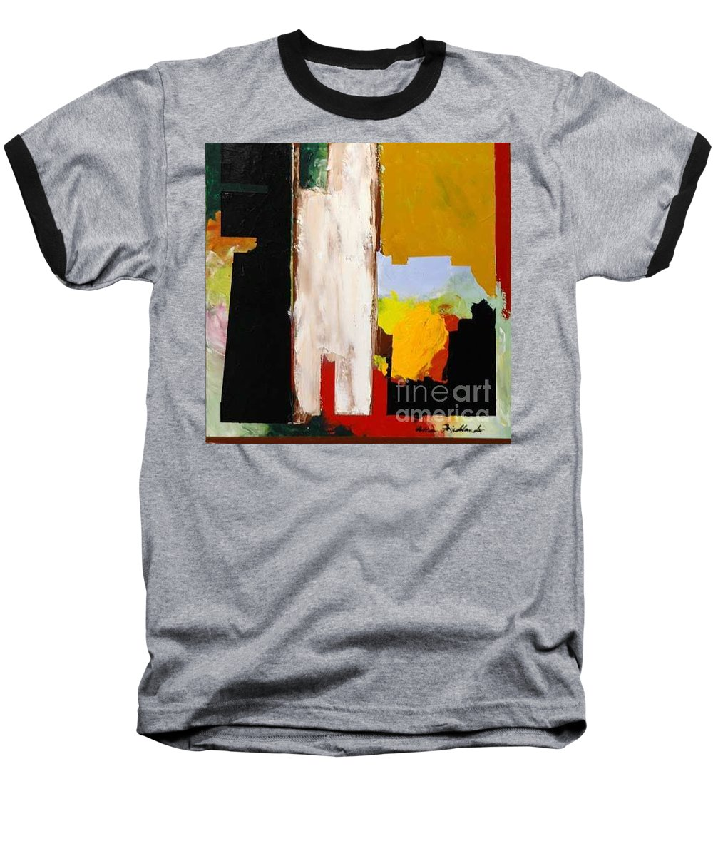 Landscape Baseball T-Shirt featuring the painting Jordan Park 511 by Allan P Friedlander