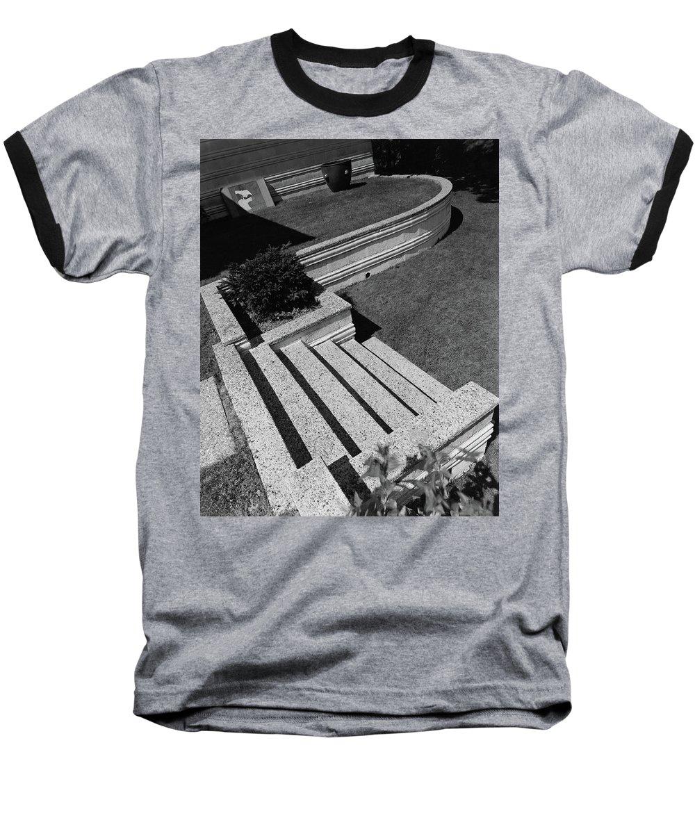 Exterior Baseball T-Shirt featuring the photograph Kenneth Kassler's Garden by Robert M. Damora