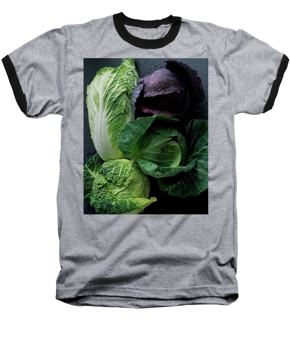 Fruits Baseball T-Shirt featuring the photograph Lettuce by Romulo Yanes