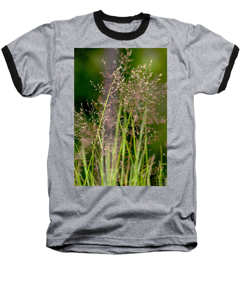 Floral Baseball T-Shirt featuring the photograph Memories Of Springtime by Holly Kempe