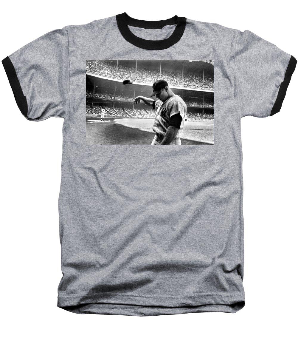 Mickey Mantle Baseball T-Shirts