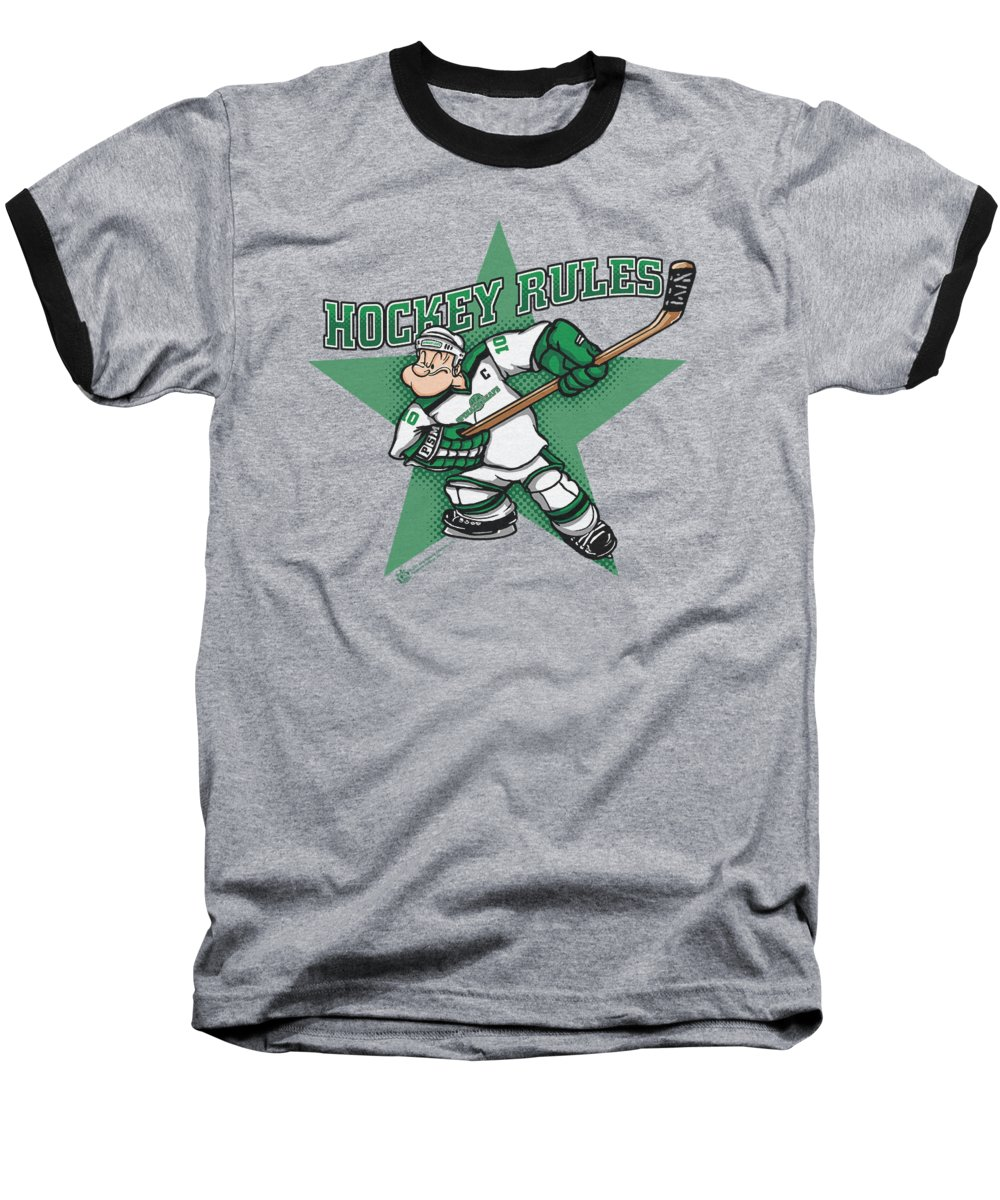 Spinach Baseball T-Shirts