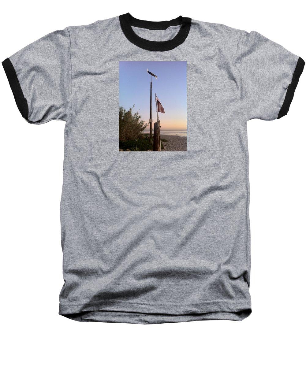 Sanoprint Baseball T-Shirt featuring the photograph Sano by Paul Carter