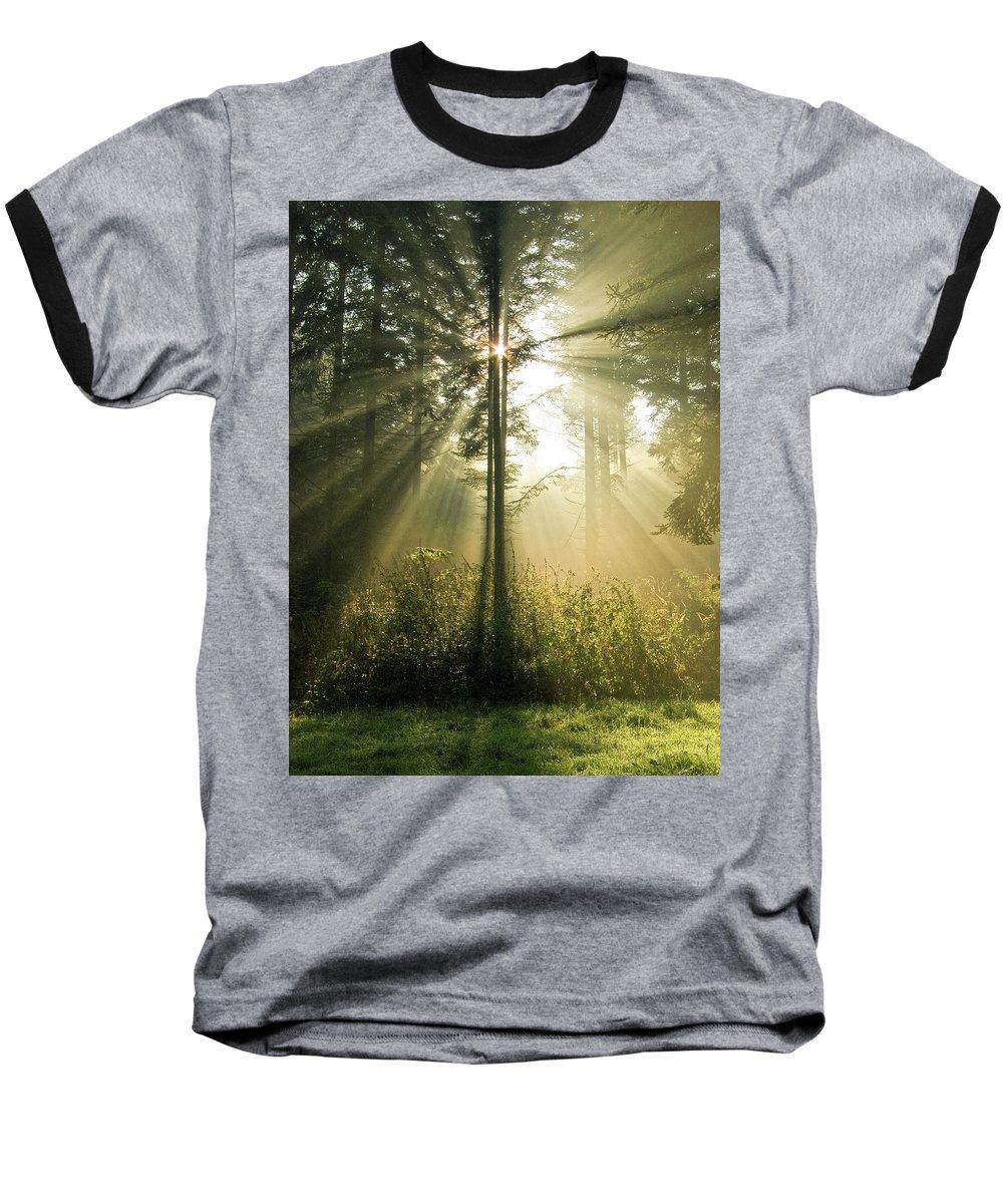 Nature Baseball T-Shirt featuring the photograph Splendour by Daniel Csoka