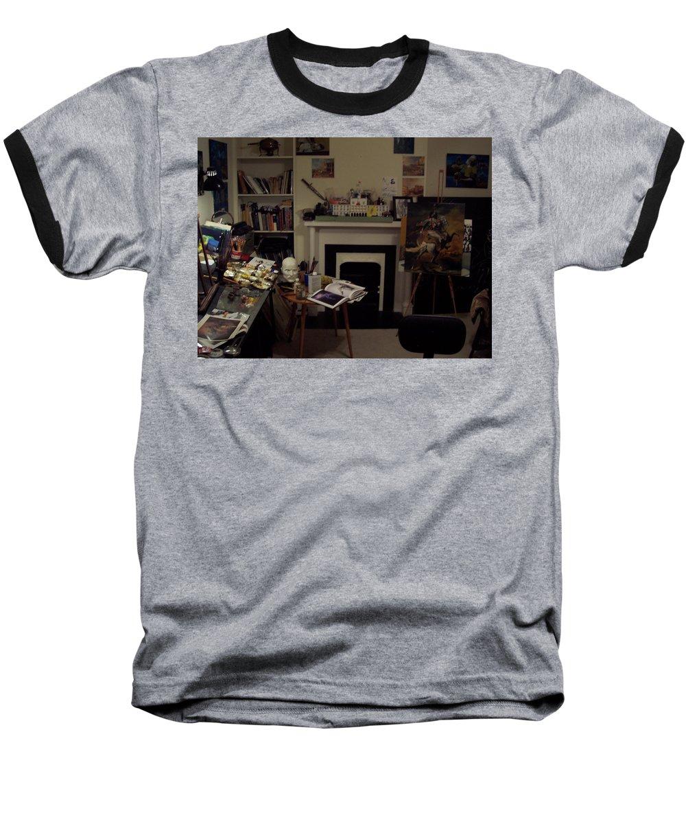 Baseball T-Shirt featuring the photograph Savannah 9studio by Jude Darrien