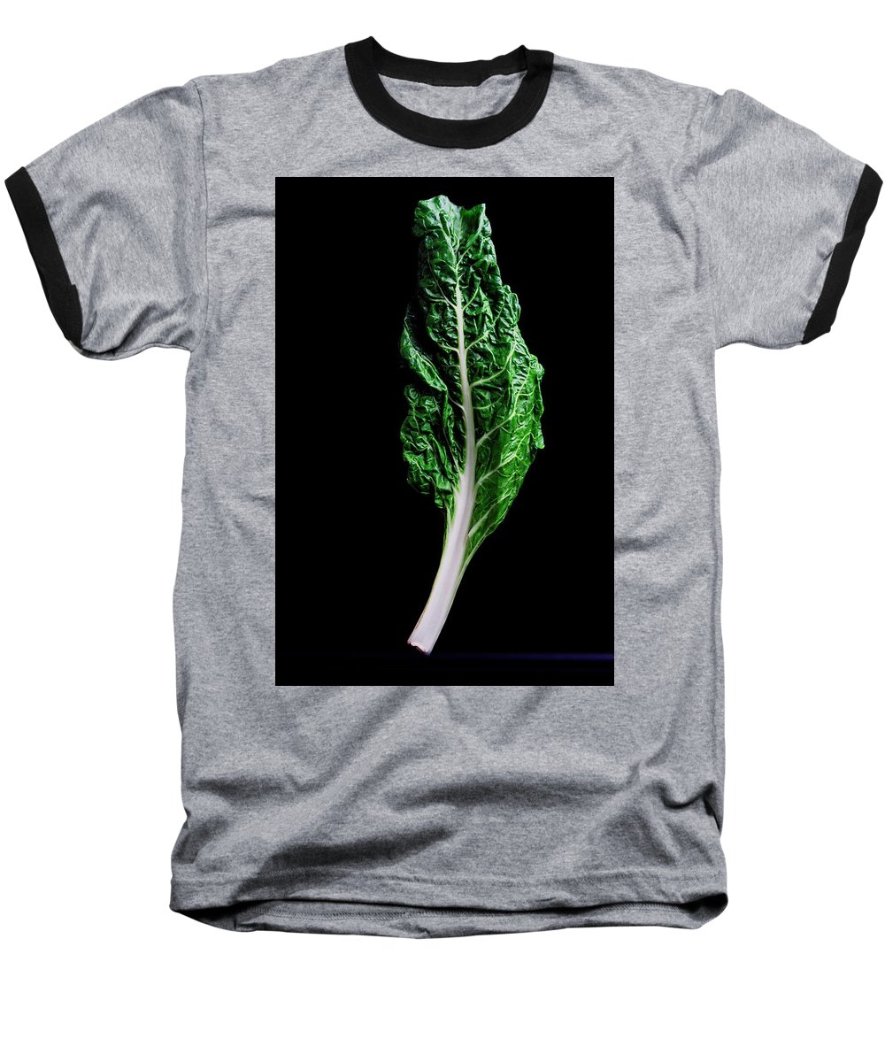 Fruits Baseball T-Shirt featuring the photograph Swiss Chard by Romulo Yanes