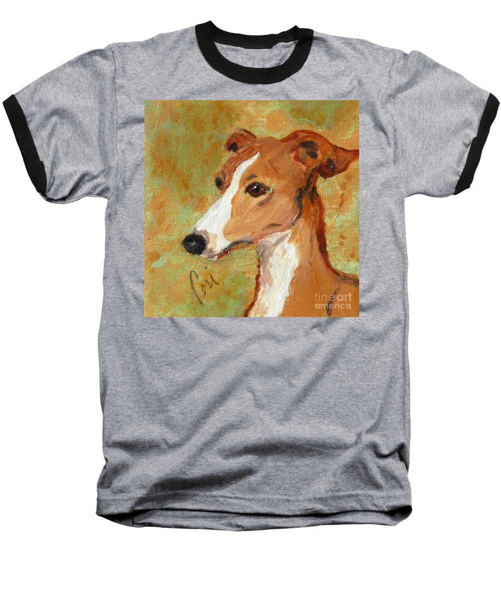 Acrylic Baseball T-Shirt featuring the painting Treasured Moments by Cori Solomon