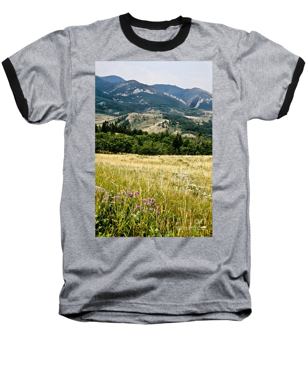 Wilderness Baseball T-Shirt featuring the photograph Washake Wilderness by Kathy McClure